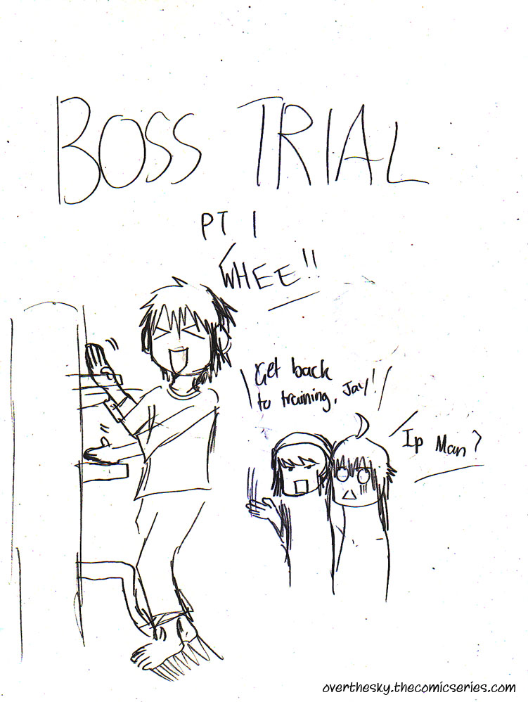 Boss Trial Part 1 - Title Page