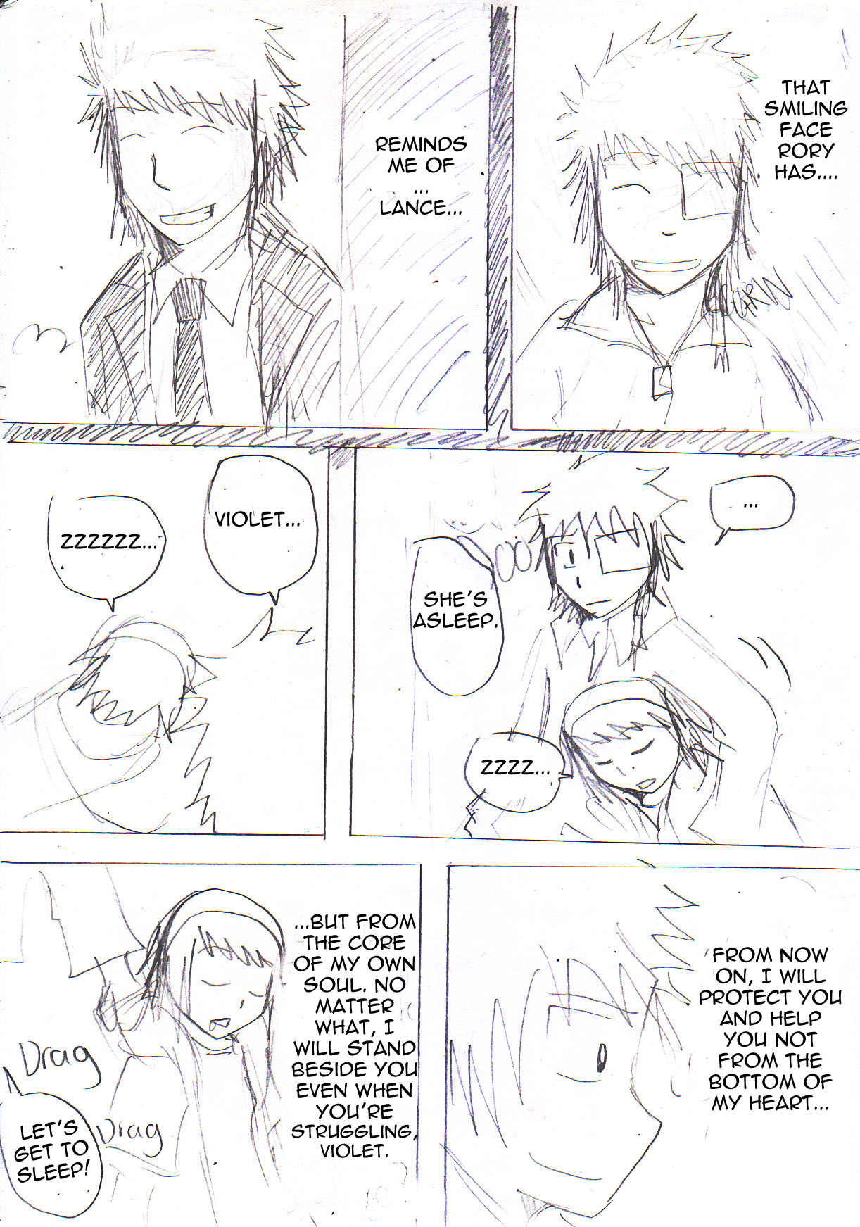 Rory x Violet Page 12